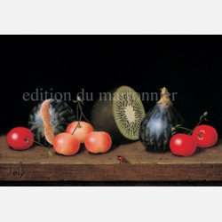 Nature morte aux kiwis