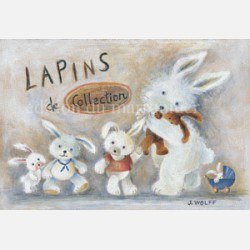 Lapins de collection